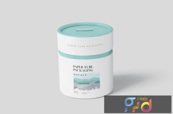 Paper Tube Packaging Mock-Up Set - Small B2799EW 3