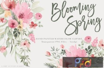 Blooming Spring AKHMXQ8 5