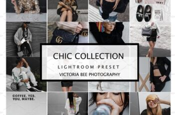 10 LIGHTROOM PRESETS CHIC COLLECTION 4171698 4