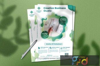 Creative Business Flyer XAKKT9A 4