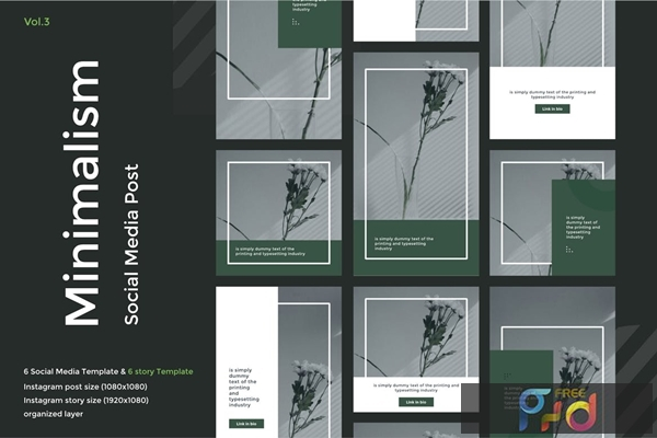 Minimalism Social Media Kit vol 3 Q7K3LUR 1