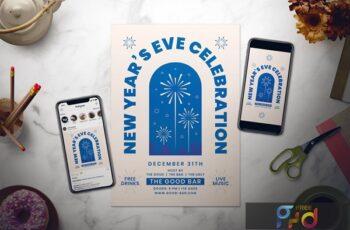 New Year Flyer Set NJ3LNMP 4