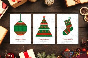 Norwegian Christmas Greeting Cards Set CAH58XP 4