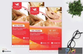 Rancak - Spa and Beauty Flyer HR CN5RWKE