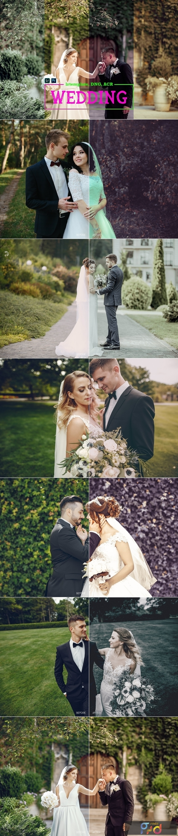 Wedding LR Mobile and ACR Presets 4171693 1