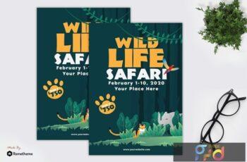Wildlife Safari - Flyer GR YZR8QN4 6