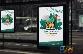 Wildlife Safari - Poster GR ZHKR7U7