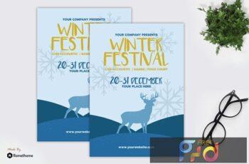 Winter Festival - Flyer GR 365Y22A 4