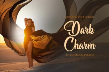 Dark Charm Presets for Lightroom 4287489 5