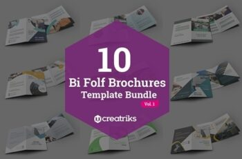 50 Bi-Fold Brochures Bundle 4268003 6