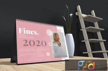 Fines - Fashion Table Calendar 2020 9RCPF2E 3