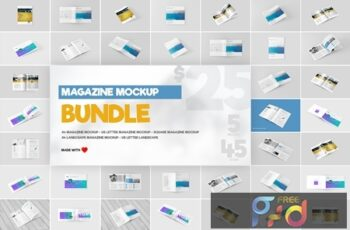 Magazine Mock-Ups Bundle 1429300 6