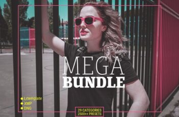 MEGA BUNDLE 2500++ LIGHTROOM PRESETS 4099019 3