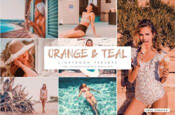Orange & Teal Lightroom Presets Pack 4284118 6