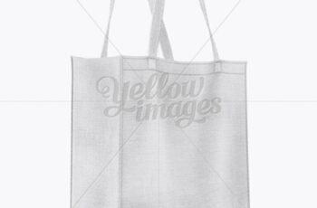 Canvas Bag Mockup - Half Side View 18143 10