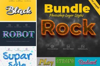 Bundle Photoshop Layer Styles 4073173 5