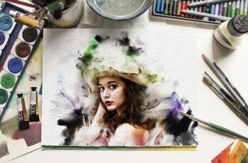 Watercolor Paint Effect 25052991 5