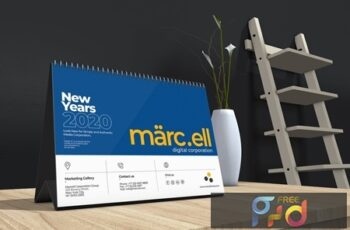 Marcell Corporate Table Calendar 2020 TQQU84P 3
