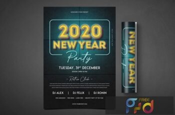 New Year Party Flyer EGJPW5T 3