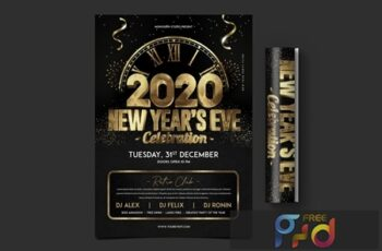 New Year Party Flyer WUXWGCY 4