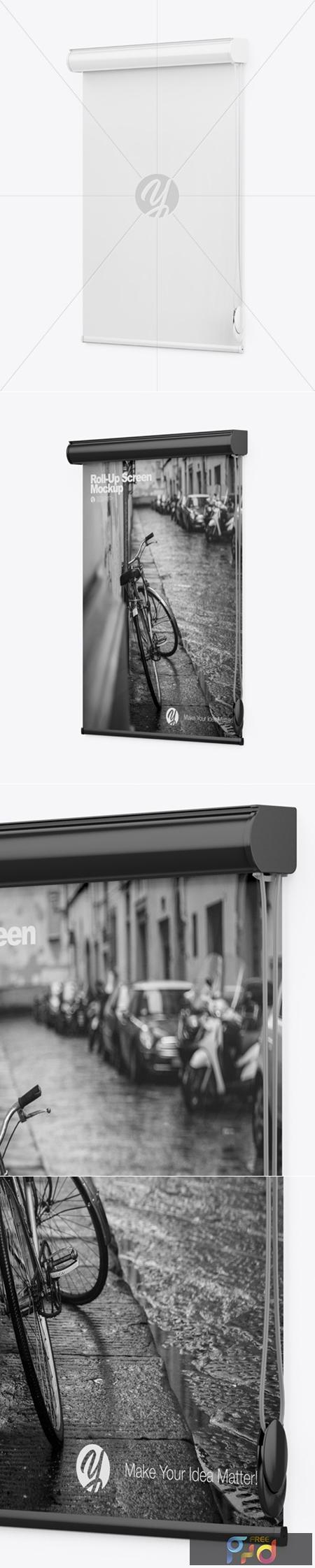 Projector Screen Mockup 43405 1