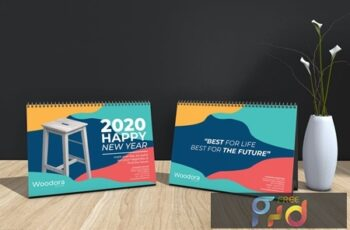 Woodora Furniture Table Calendar 2020 KZEL4Z7 14