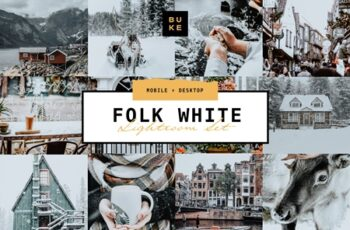 Folk White - Lightroom Presets Pair 4375954 7
