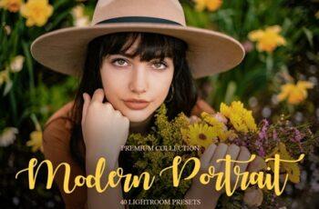 Modern Portrait Presets Lightroom 4291151 6
