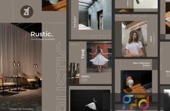 Rustic social media graphic templates SJ3WFYS