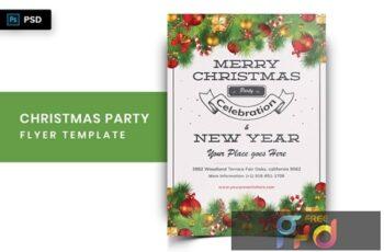 Christmas Party Flyer-04 6RJ7Z8X 5
