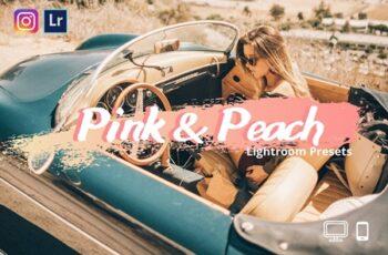 Pink&Peach Lightroom Presets XMP-DNG 4360454 6