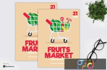 Fruits Market - Flyer GR Q5ZSMPP 5