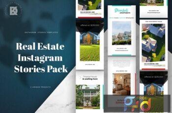 Real Estate Instagram Stories Pack RV8LT3H 6