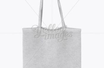 Canvas Bag Mockup - Front View 18175 9