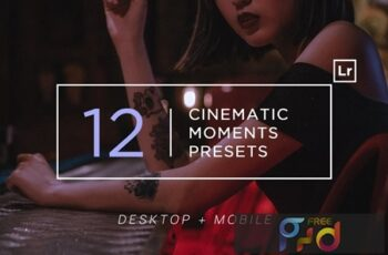 12 Cinematic Moments Lightroom Presets Q8XBZJ4 7