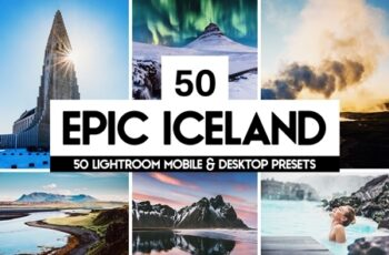 Epic Iceland - 50 Lightroom Presets 4401492 7