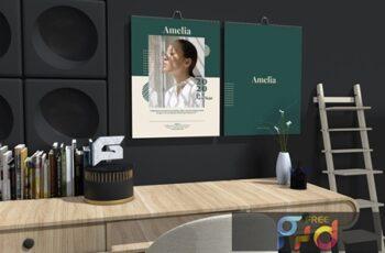 Amelia - Fashion Wall Calendar 2020 YYAFJE8 4