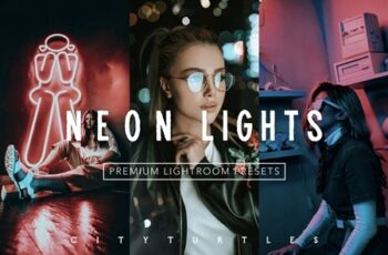 Moody NEON LIGHTS Lightroom Presets 4335929 7