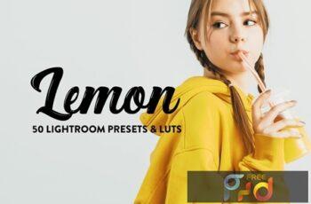 50 Lemon Yellow Lightroom Presets & LUTs WG3WDKH 6