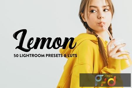 50 Lemon Yellow Lightroom Presets & LUTs WG3WDKH 1