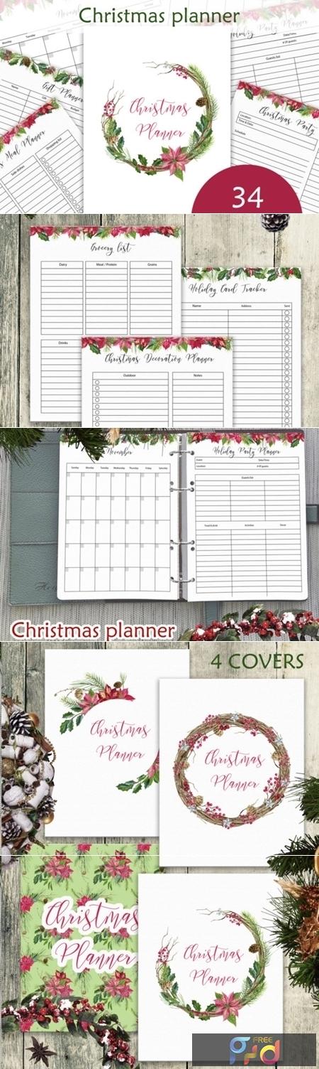 Christmas Planner Printables Letter Size 2021 Christmas Planner Letter Size Pdf 2178508 Freepsdvn