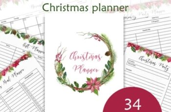 Christmas Planner Letter Size PDF 2178508 3
