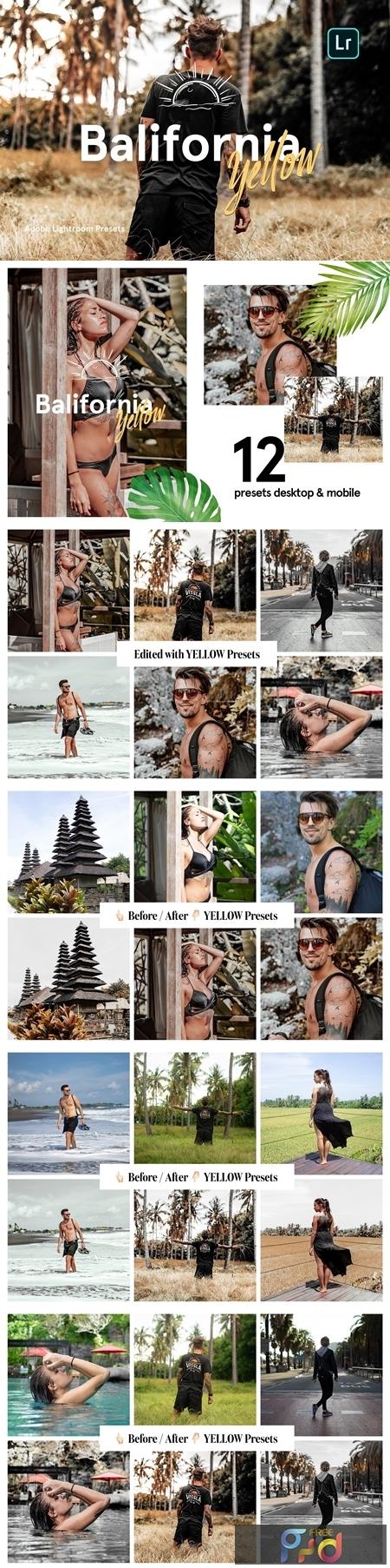 Balifornia Presets - Yellow 4338145 1