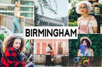 Birmingham Mobile & Desktop Lightroom Presets QRYQKWB 5