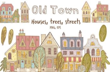 Old Town Clipart Collection 2178272 4