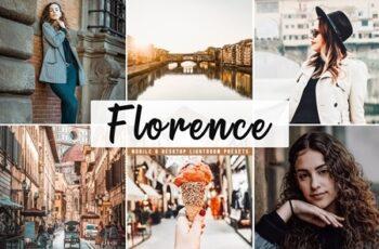 Florence Lightroom Presets Pack 4401107 4