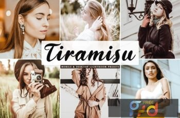 Tiramisu Mobile & Desktop Lightroom Presets 5Q5MBN3 7
