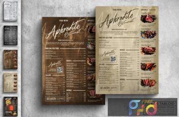 Vintage Food Menu Poster Design Bundle 3HCQD5K 7