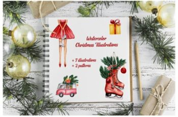 Watercolor Christmas Illustrations 2178831 4