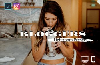 Bloggers Lightroom Presets XMP DNG 4346069 5